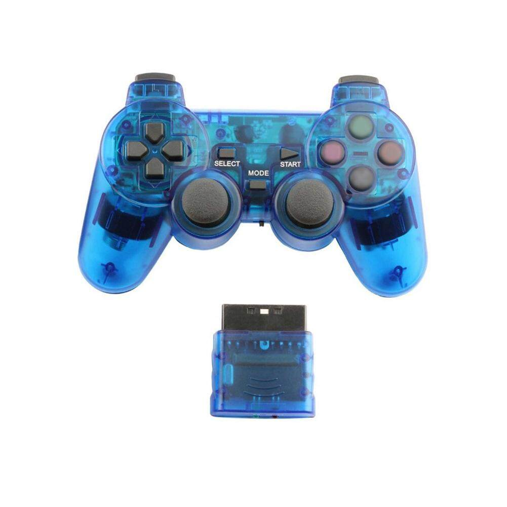 Wireless Transparent Game Handle Controller Game Accessories For PS2