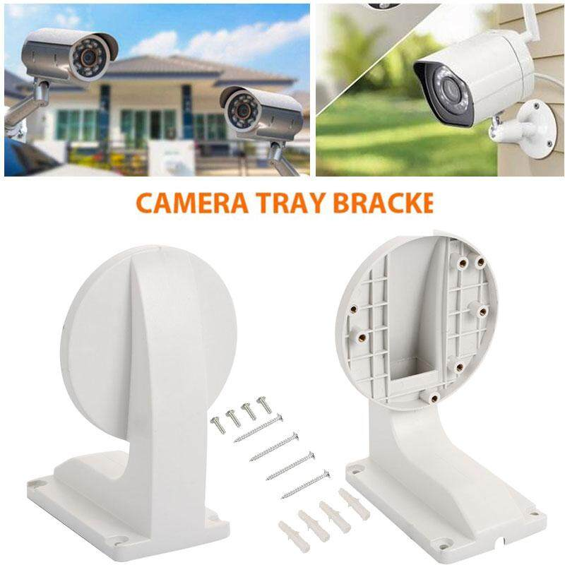 Protable Waterproof White Wall Ceiling Bracket Dome Camera Bracket for DS-1258ZJ IP Dome Camera for Hikvision - intl