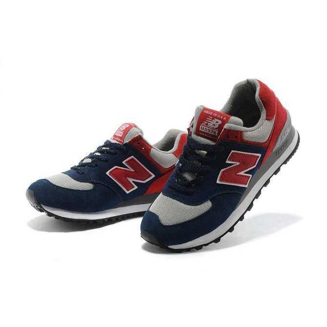 ยี่ห้อไหนดี  เลย มาใหม่ล่าสุด CLASSIC BALANCE Loafers สำหรับแฟชั่นสำหรับผู้หญิง 574 รองเท้าสี 8