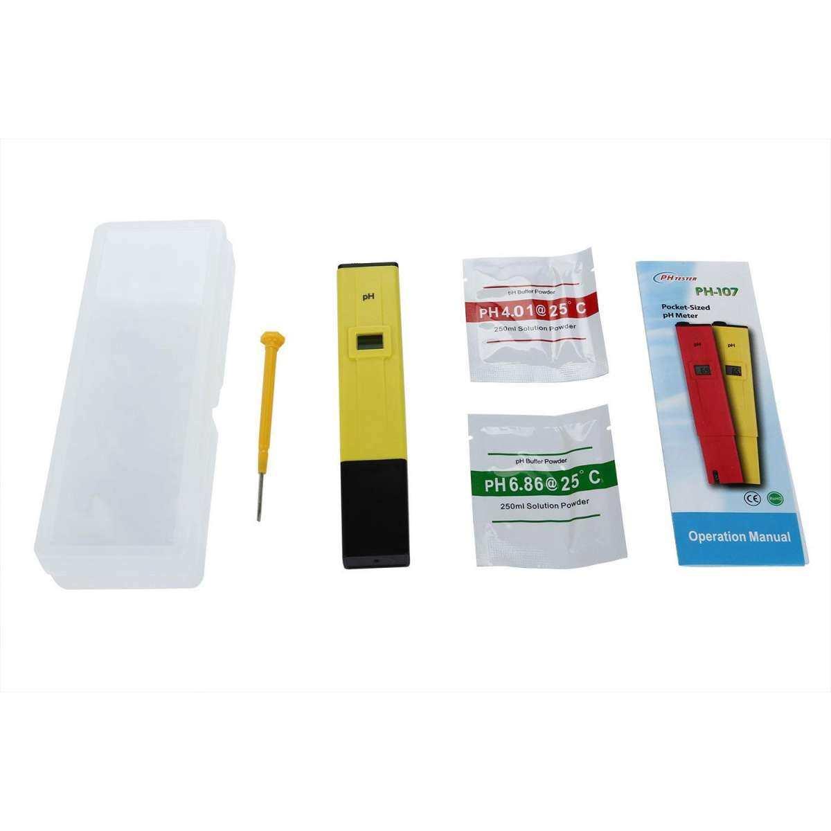 quzhuo New Mini Digital Pen Type PH Meter PH-009 I Multimeter Tester Hydro