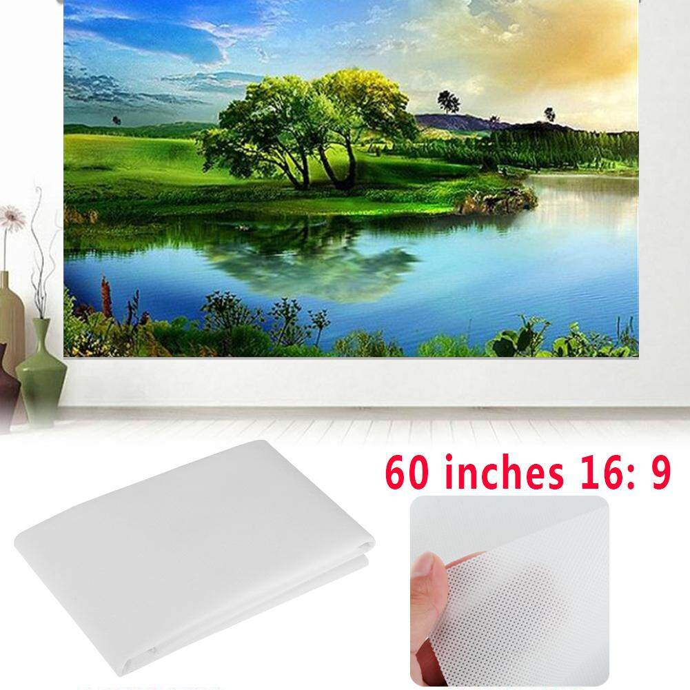 KawhiMall Compact Portable Projection Screen Projector Screen 16:9 60 Inch - intl