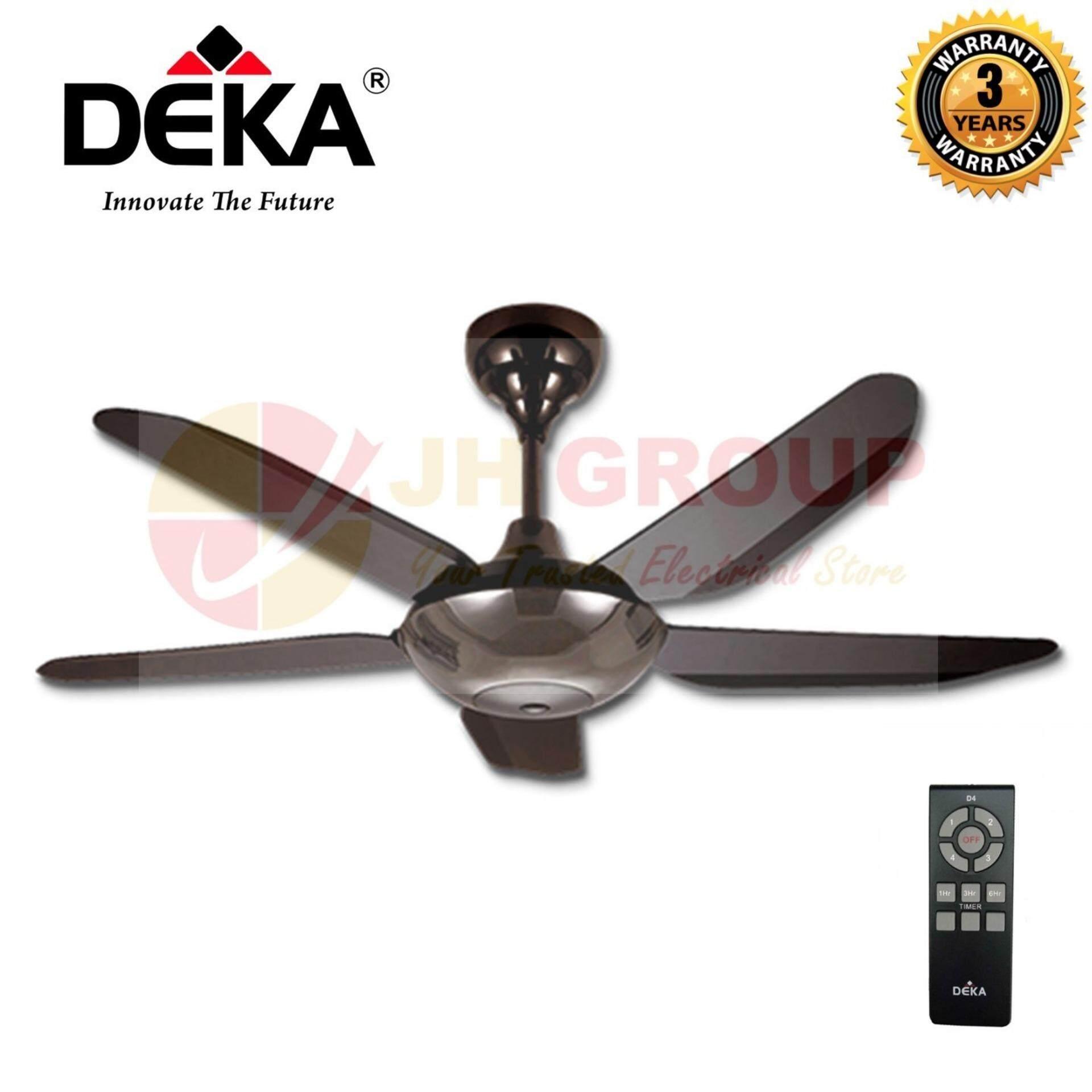 Deka Baby 6n 5 Blades Metal 46 Ceiling Fan With Remote Control Lazada