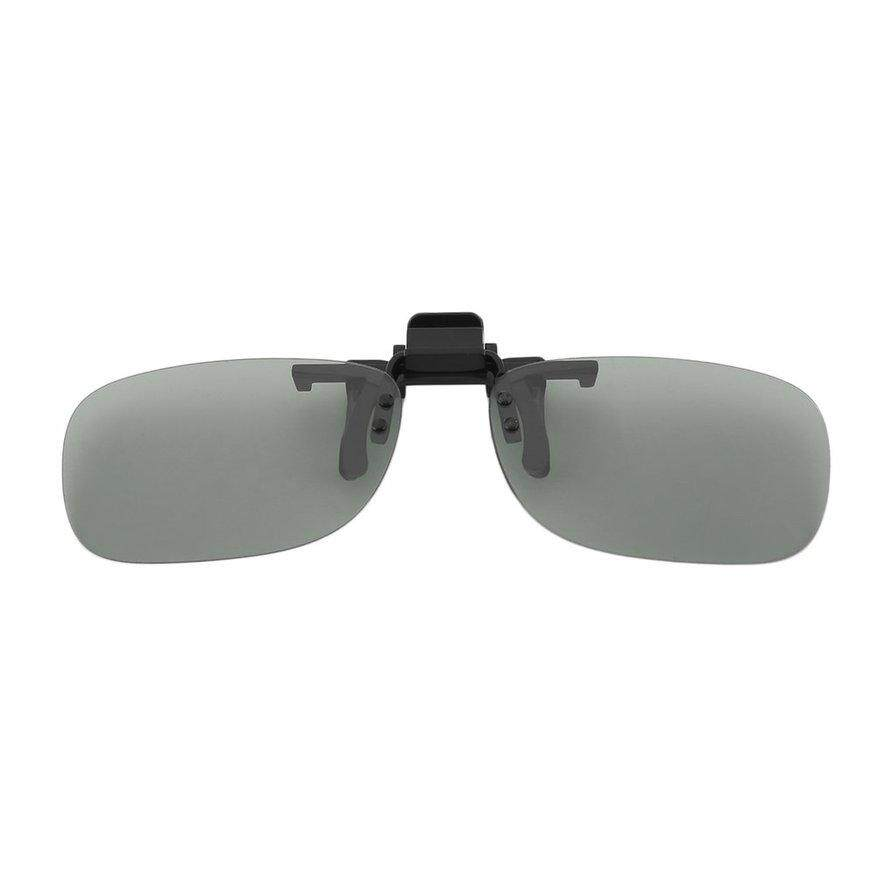 [[Flash Sale] Kẹp Trên Thụ Động Hình Tròn Phân Cực 3D Kính Kẹp cho LG 3D TRUYỀN HÌNH Điện Ảnh Phim