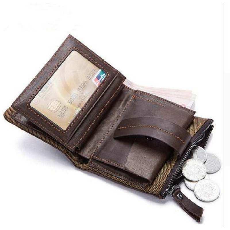 Men Wallets Coin Pocket Card Holder Purse Male Wallet Purse Short Biford Wallet