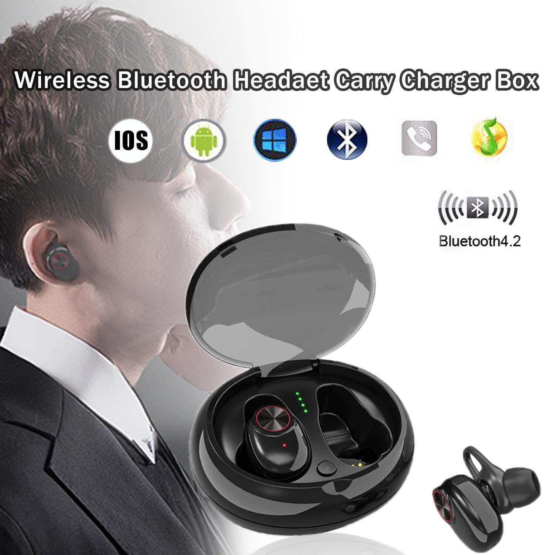 ของแท้ ลดราคา หูฟัง Unbranded/Generic RYT Binaural ลวด - LESS V4.2 ชุดหูฟัง TWS หูฟังหลากสีพร้อมถังชุบหูฟังสำหรับ I7s PLUS ยินดีคืนเงิน
