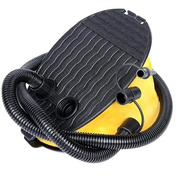 (Dividends ที่สูบลงโดยใช้เท้า Inflator ปั๊มลมเท้าสำหรับ Camping บอลลูน Sleeping เตียงลมลูกบอลโยคะ Pad ที่นอน