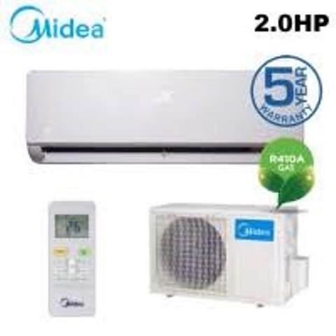 *SUPER MEGA SALE* MIDEA AIR CONDITIONER 2.0HP (R410) MSK4-18CRN1/AIRCOND 2HP/冷气2马力