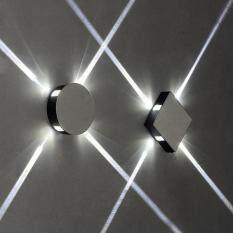 Hiện đại Đơn Giản 85-265 V LED Chéo Hẹp Tia Lối Đi ĐÈN LED Dán Tường Phòng Ngủ Hành Lang Cầu Thang Trong Nhà Điểm Đèn