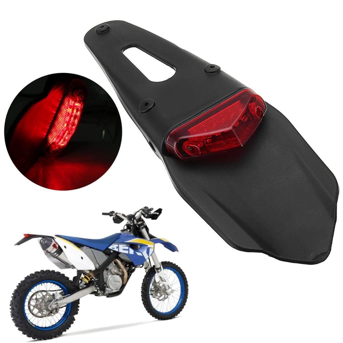 Dirt Bike Motorcycle light LED Rear Fender Brake Tail Light Off Road Dual Sport