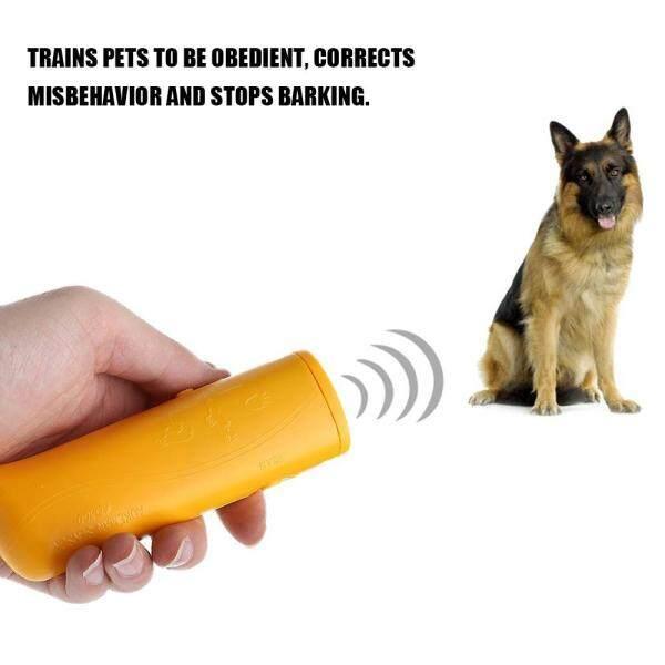 3 Trong 1 Chống Sủa Thiết Bị Chống Sủa Thiết Bị Đuổi Chó Cưng Siêu Âm Cầm Tay Thiết Bị Huấn Luyện Điều Khiển Huấn Luyện Viên Có Đèn LED