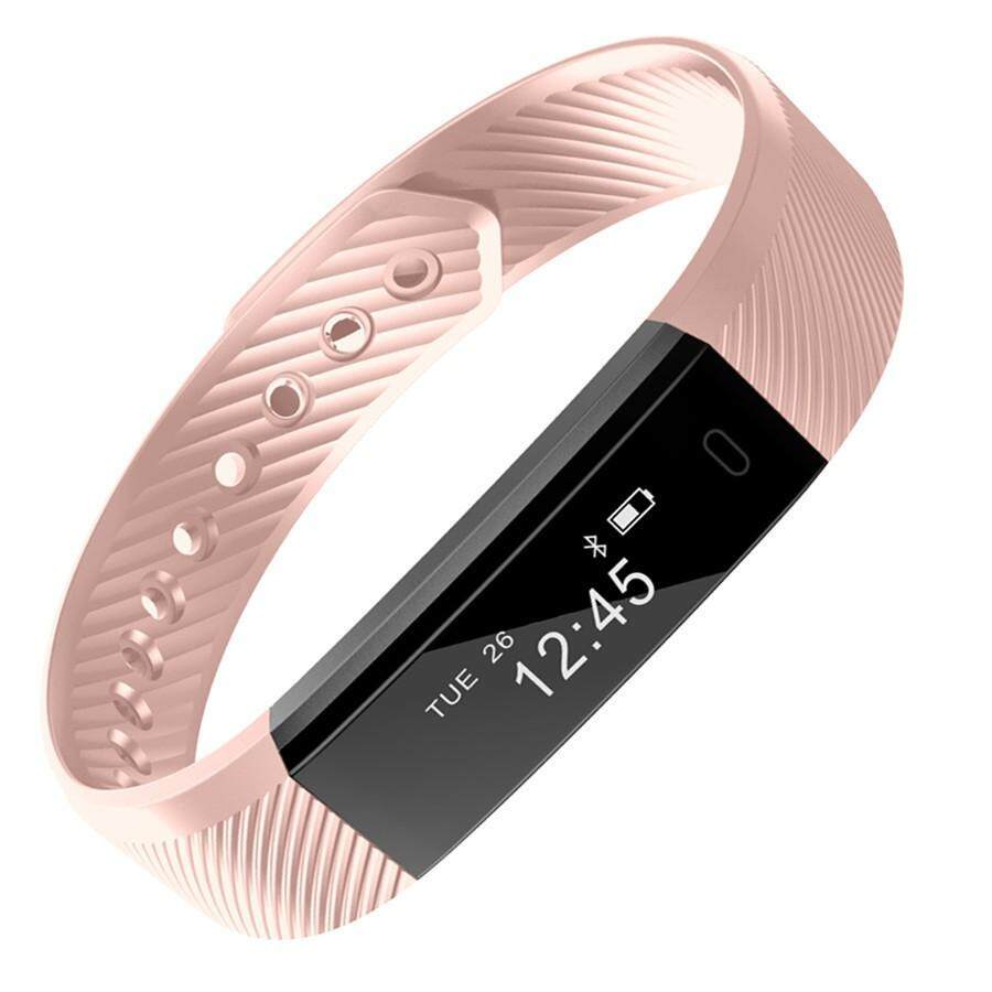 Fitness Watches Heart Rate Monitor Smart Band ID115HR Wristband Bracelet Activity Tracker for xiaomi iphone
