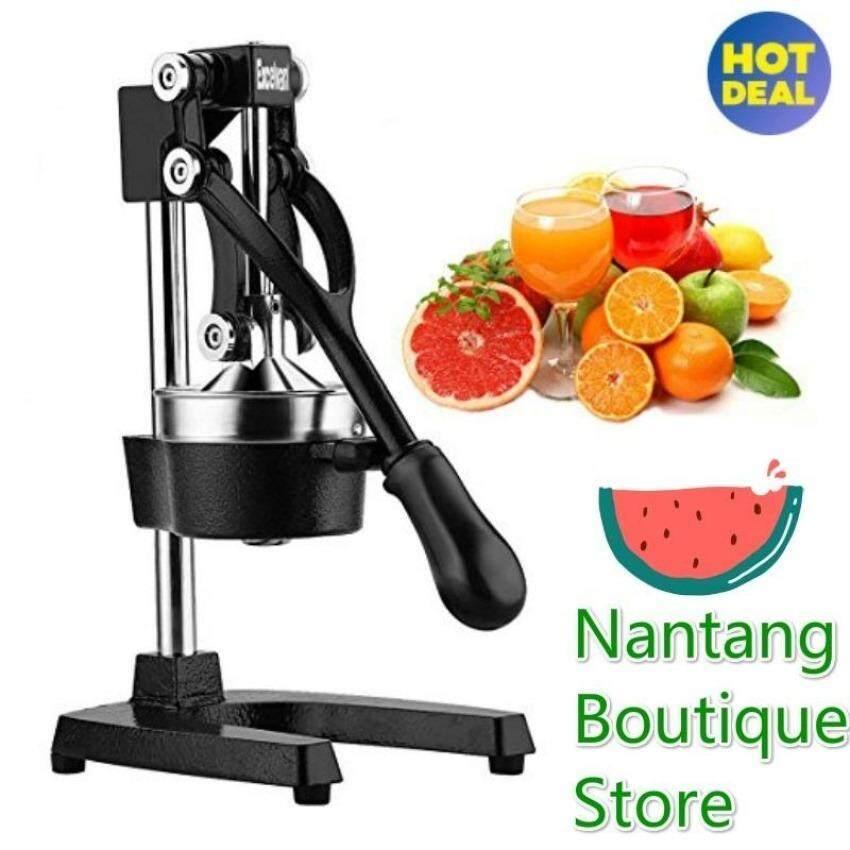 Wales High Quality Stainless Steel Hand Pressing Pressure Juice Fruit Juicer - Medium