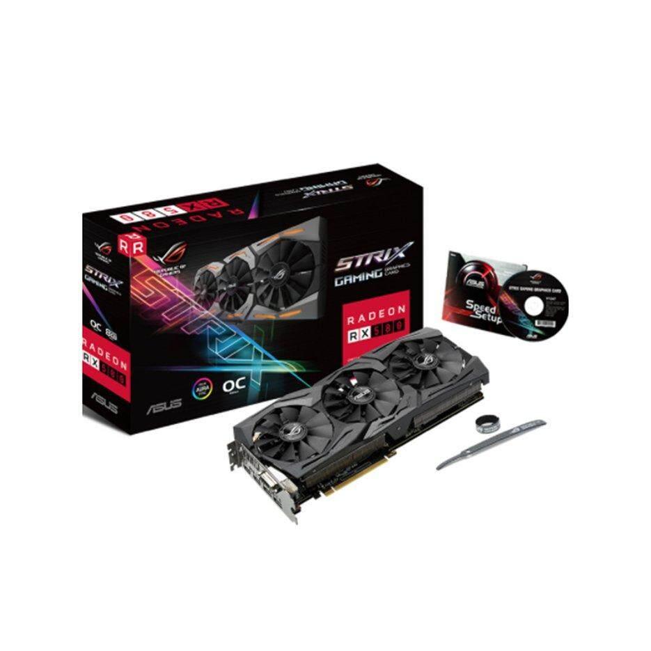 ASUS ROG STRIX AMD Radeon RX 580 Đầu Phiên Bản 8 GB GDDR5 RGB Đồ Họa Video Thẻ