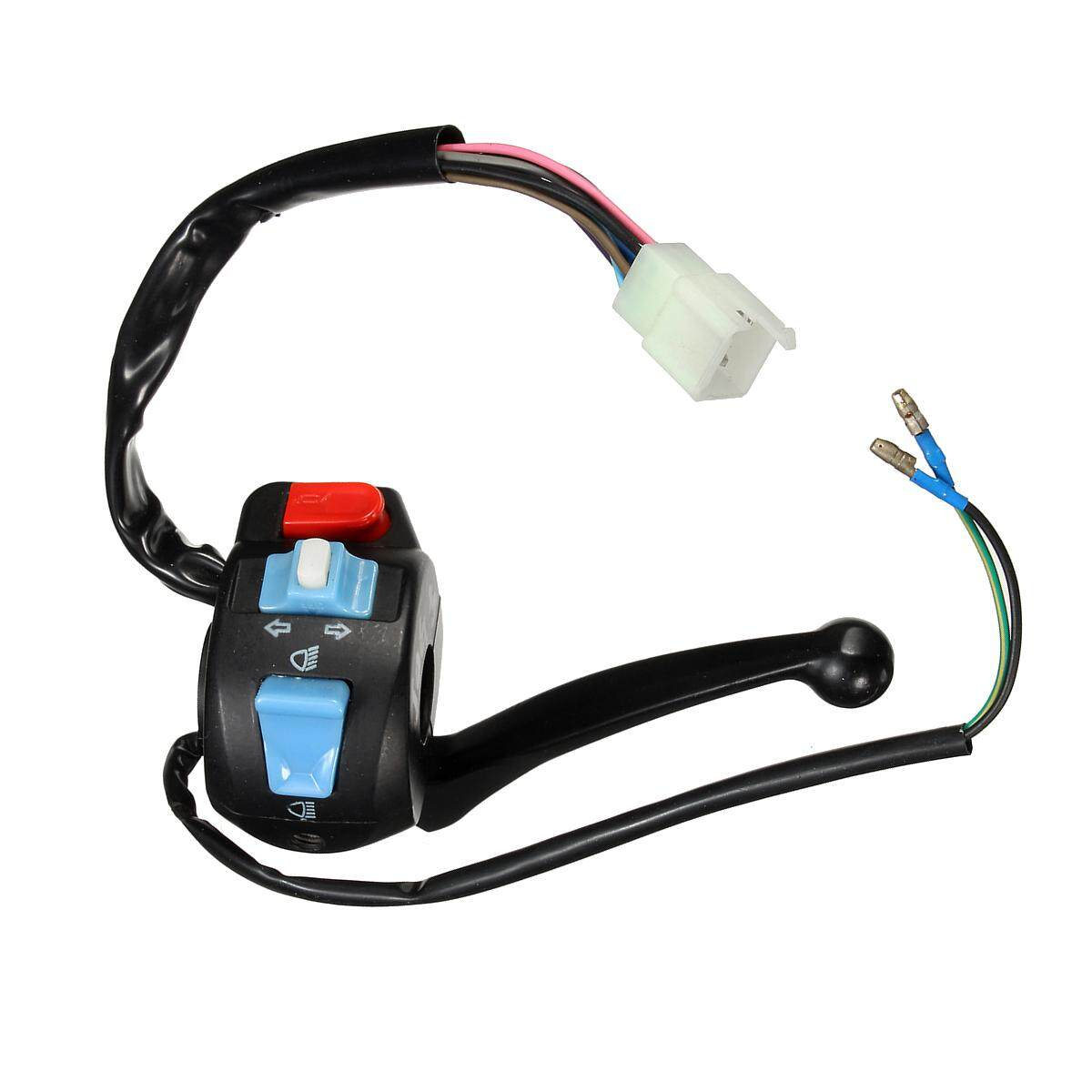 【Free Shipping +Global Collection】Left Light Switch Control Brake Lever For GY6 50 150 Scooter Moped Parts New