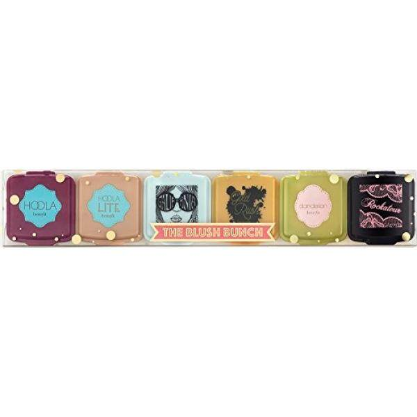 Benefit Cosmetics The Blush Bunch Bronzer and Blush Set 6 Piece Mini Trial Size Travel