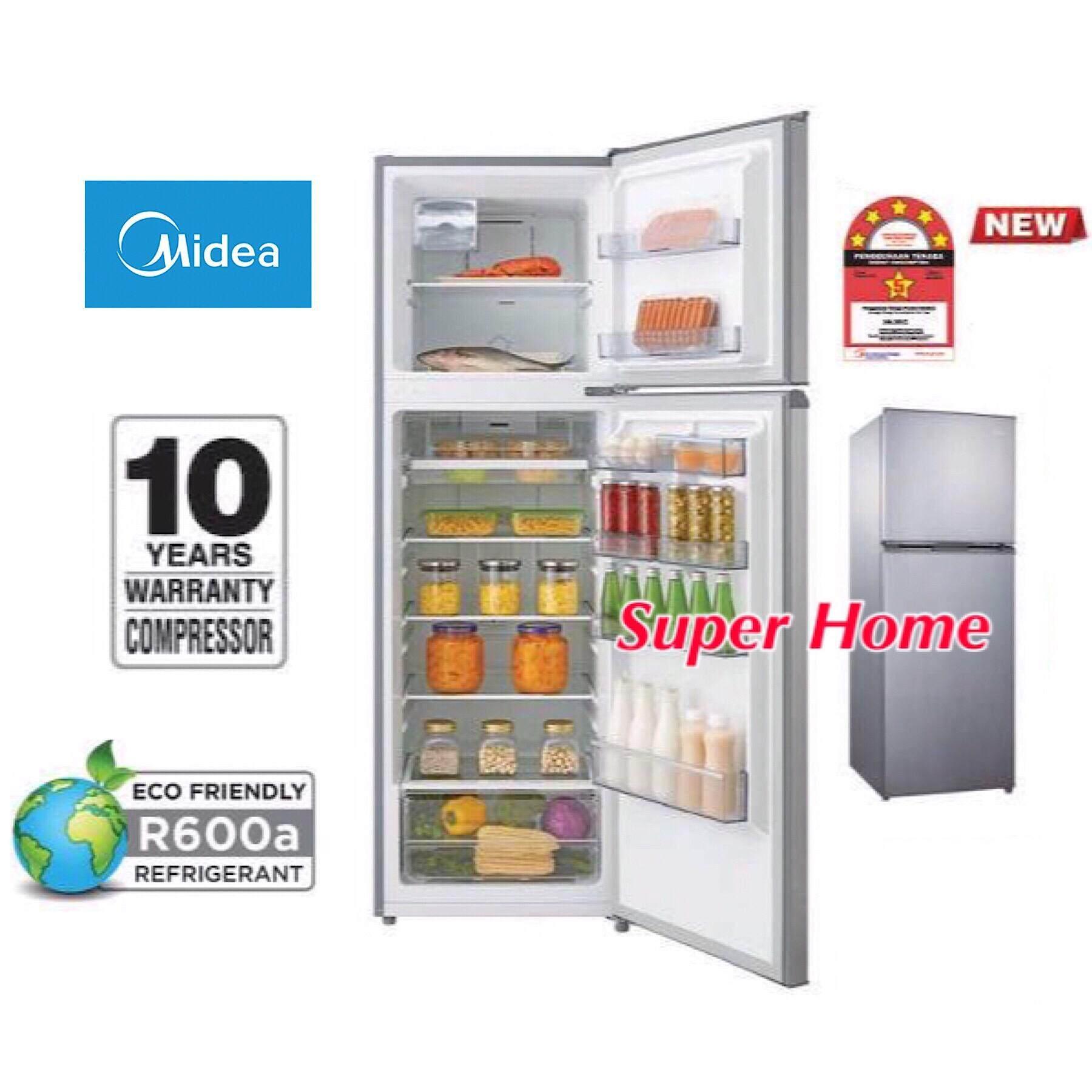Midea 2 Door Refrigerator MD-262V (260L) 5 Star Energy Saving