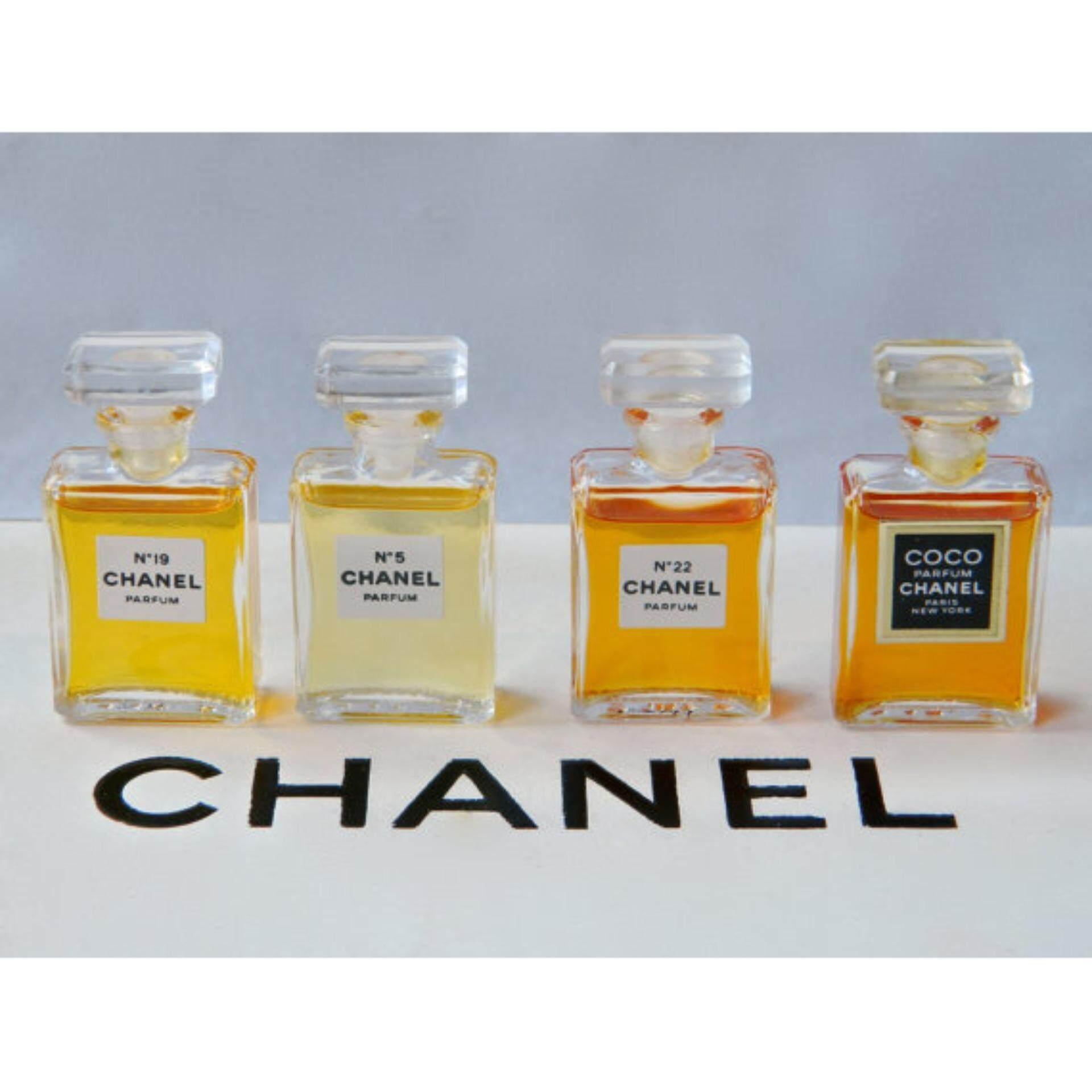 Chanel Perfume 4 In 1 Premium Gift Set Miniature Chanel Perfume
