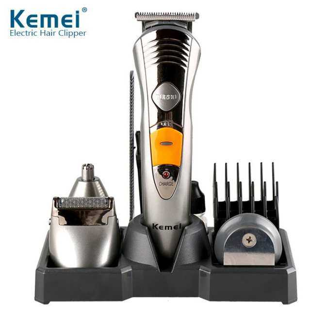 Kemei Home Professional Personal Care Full Set Of Multi-Function Hair Clipper Lettering Razor Km-580a By Wisteria Shop.