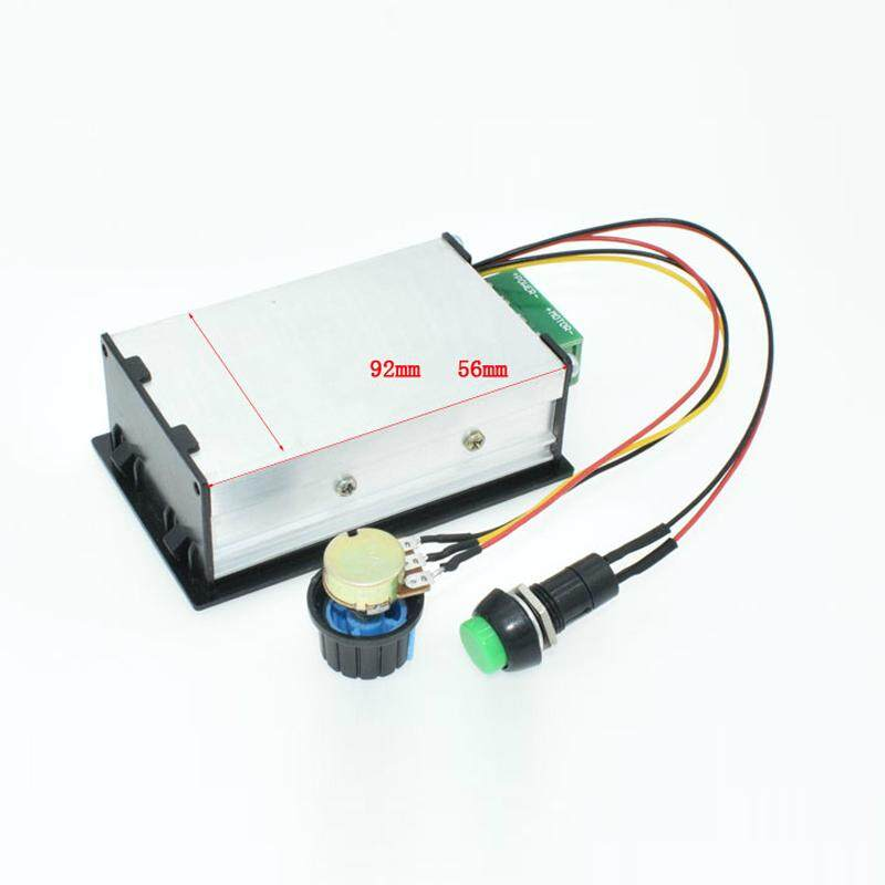 Pwm Dc Motor Speed Controller 0-100 Digital Display Stepless Speed Regulation Electrical Equipments & Supplies