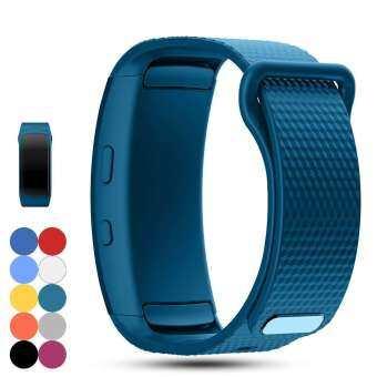 Samsung Gear Fit 2 Pro/Fit 2 SM-R360 เปลี่ยนสายนาฬิกาข้อมือสายคล้องคอ, อุปกรณ์เสริมริสต์แบนด์ซิลิโคนกีฬาสร้อยข้อมือสำหรับ Samsung Gear Fit 2 Pro/SM-R360 Smartwatch-