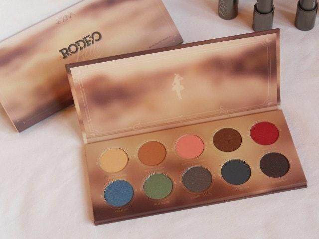 Rodeo Belle Eyeshadow Palette 10 color beauty