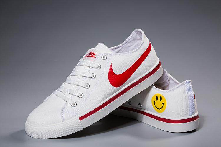 9e7174af571b NIKE BLAZER LOW 18 Men s Sports Running Shoe Classic Casual Sneakers (White  Red)