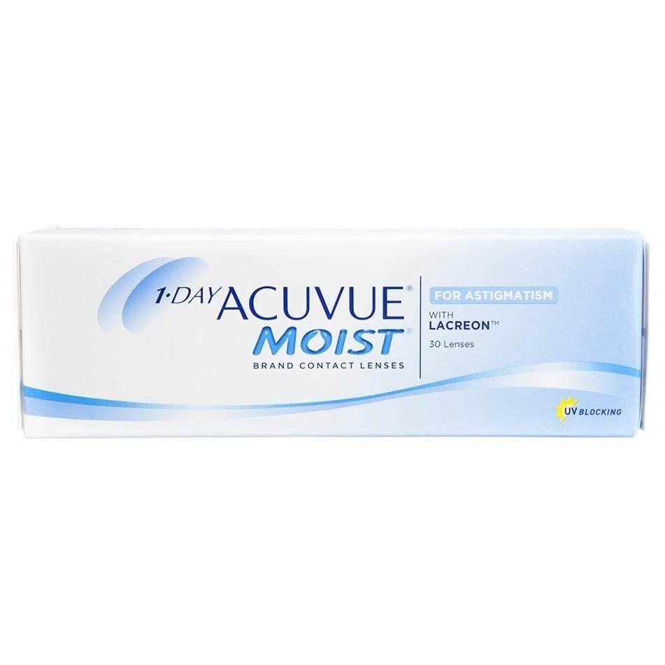 1-DAY Acuvue Moist for ASTIGMATISM (30pcs/box)