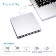 USB Bên Ngoài Khe Cắm DVD Ổ CD Đầu Đốt cho Apple MacBook Air Pro