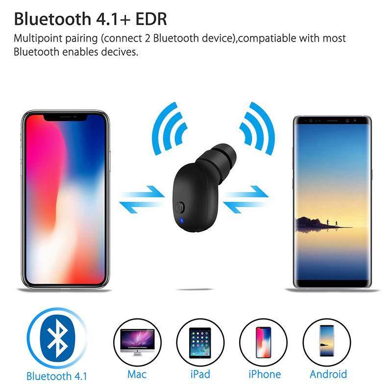 รีวิว หูฟัง O2 มินิที่มองไม่เห็นบลูทูธขนาดเล็ก 4.0 ชุดหูฟังสเตอริโอหูฟังพร้อมไมโครโฟนรองรับแฮนด์ฟรีสำหรับสมาร์ทโฟนและสมบูรณ์แบบสำหรับฟังเพลงในที่ทำงาน ถูกกว่านี้ไม่มีอีกแล้ว