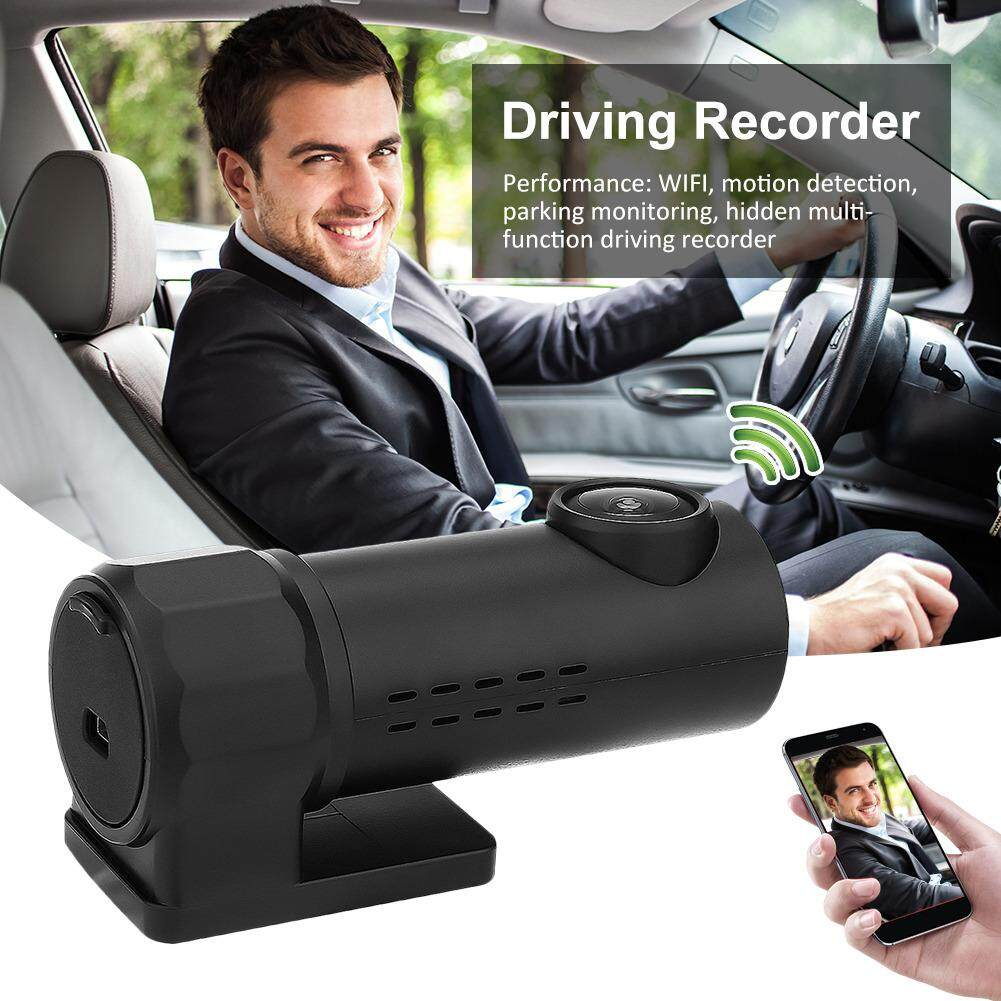 RYT HD 1080P Driving Recorder Smartphone Monitoring Wifi Hidden Car Kit DVR Camera black