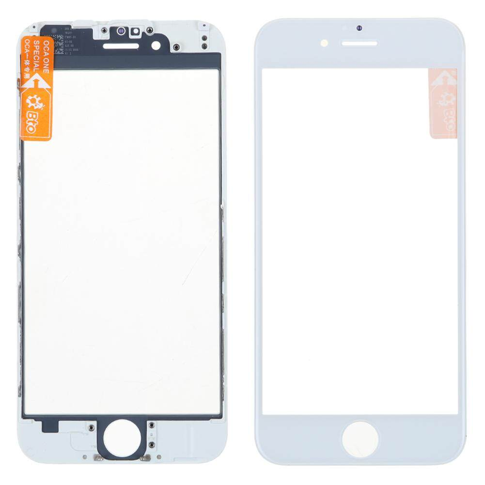TD Front Outer Glass Lens Repair Part With OCA Assembly Benzel Frame for iPhone 6 LCD