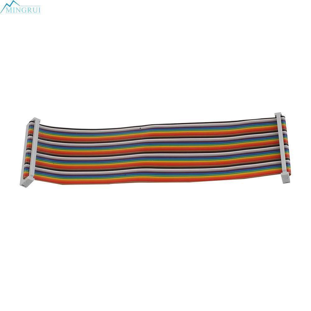 40 Pin GPIO Rainbow Ribbon Cable Wire Cord IDC 22cm F/F For Raspberry Pi 2 3