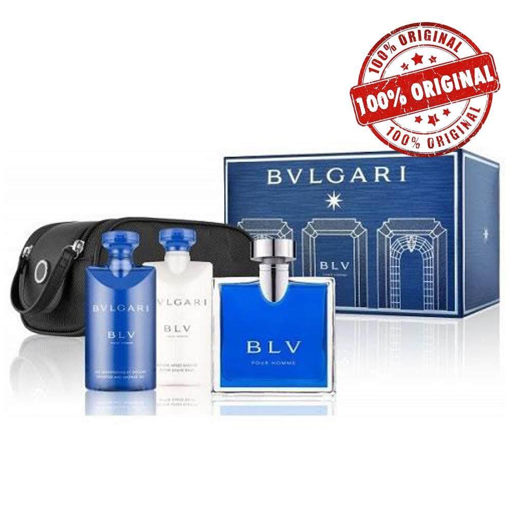 ORIGINAL Bvlgari Blv Pour Homme EDT 100ml Perfume Gift Set