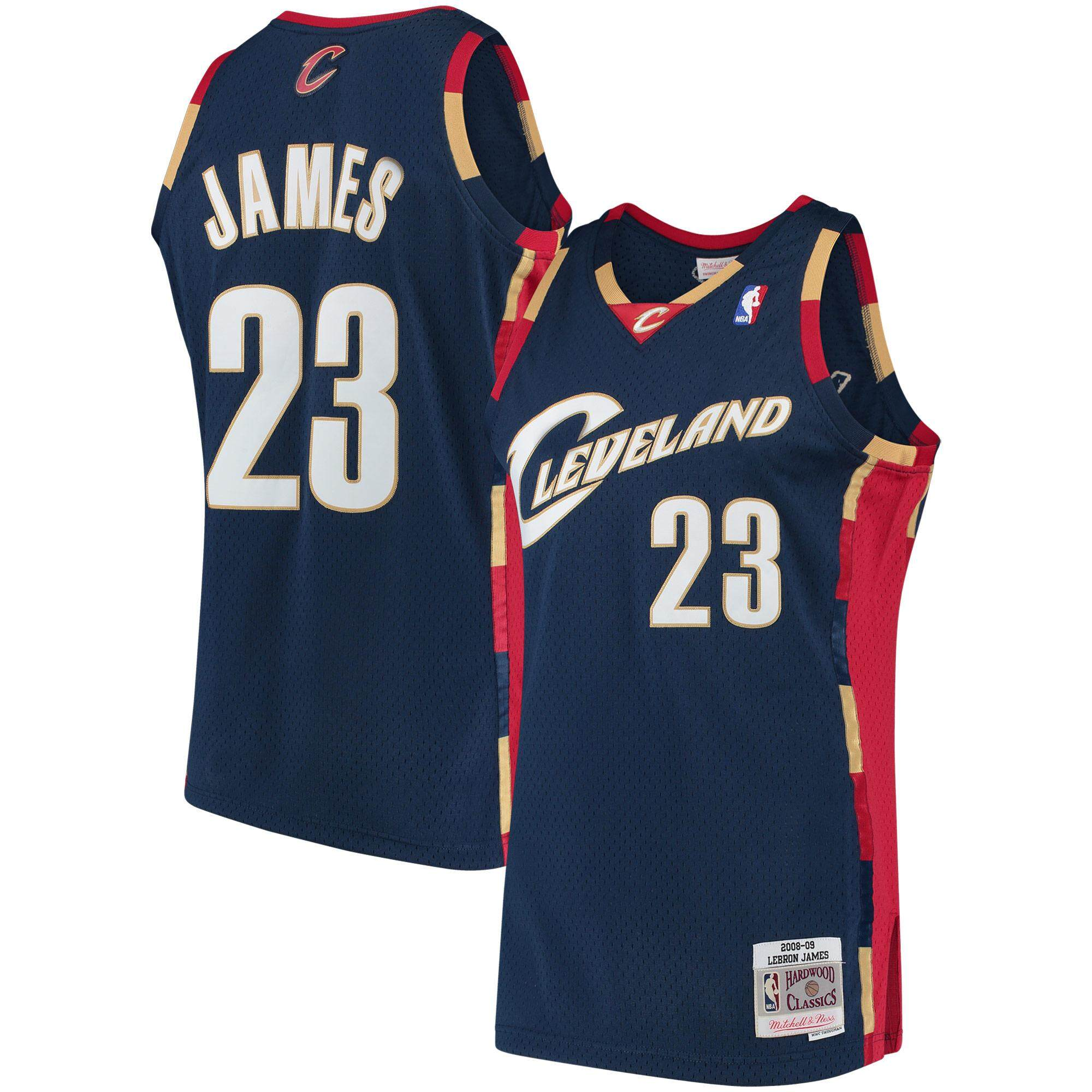 Top Light Mitchell Cavaliers 23 Male Jersey Hardwood amp; Lebron Ness Classics 2008-09 Adult For James Cleveland Num Basketball Clothes Swingman