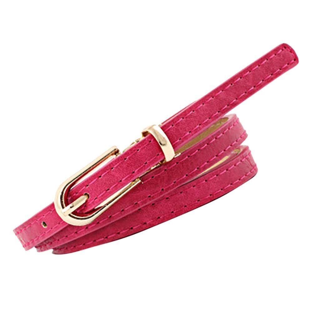 Girls Vintage Frosted Leather Belt