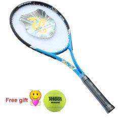 Vợt Tennis Sợi Carbon Dành Cho Người Lớn Nature Star, Vợt Tennis Siêu Nhẹ Chống Sốc Và Chống Ném, Bao Gồm Túi Tennis Và Bóng (Màu Xanh)