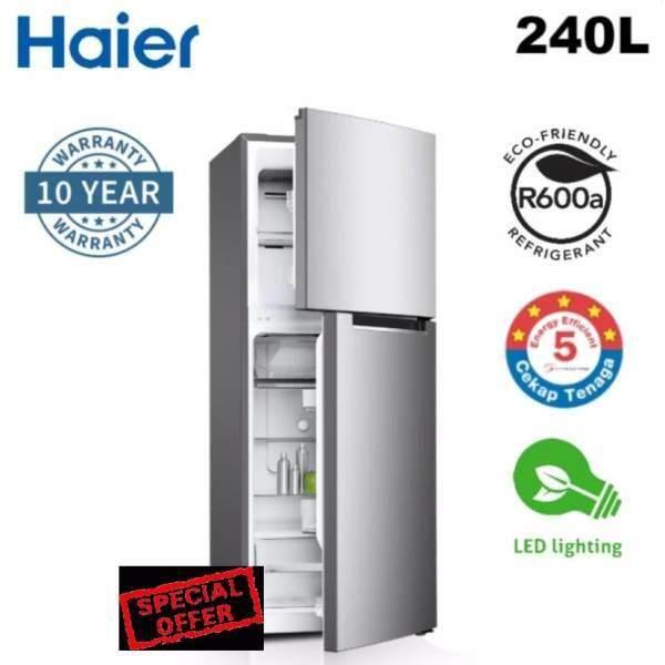 Haier HRF-238H Refrigerator 240L (Net 205L) 2-Door Fridge - No Frost