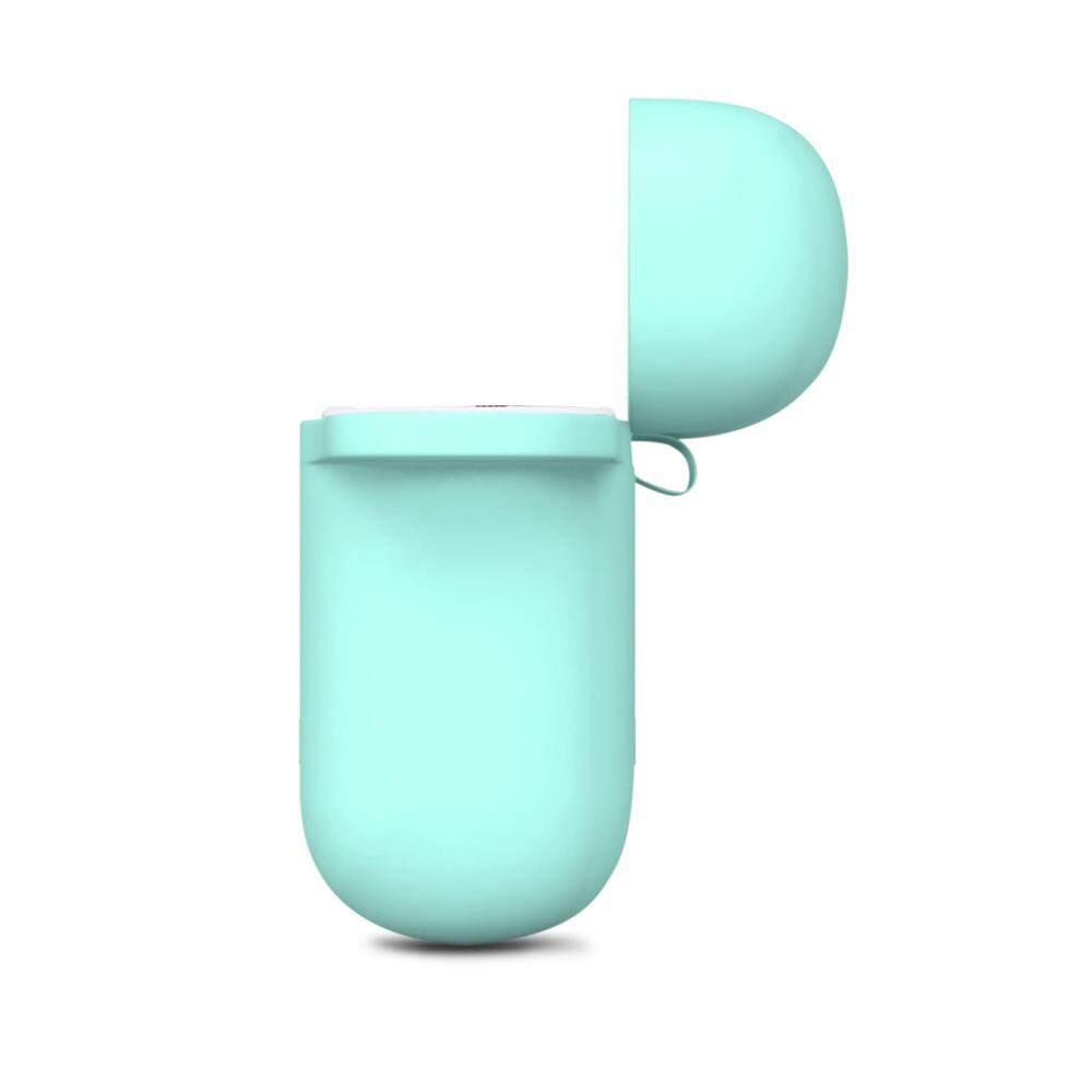 นี่คืออันดับ1 หูฟัง Unbranded/Generic ?Flash Deal?Waterproof หูฟังกันกระแทกเคสเบ็ดสำหรับ Apple AirPods Blue/สีดำ/สีแดง/สีขาว - INTL มีคูปองส่วนลด