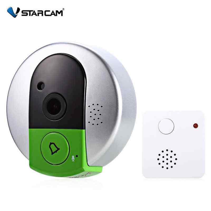 AirBuy Vstarcam C95 720P WiFi Smart Camera Doorbell Night Vision Wide Angle Video Record Photo Shooting Digital Alarm Doorcam Doorbell(EU/US/AU/UK Plug)