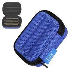 Protable Harmonica Storage Box Oxford Cloth Sponge Light weight Shockproof Case for 10 Hole Harmonica