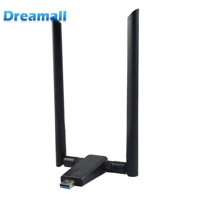 1200Mbps Wireless WiFi Network Card USB3.0 Adapter Dual Band 2.4/5.8G Signal Receiver