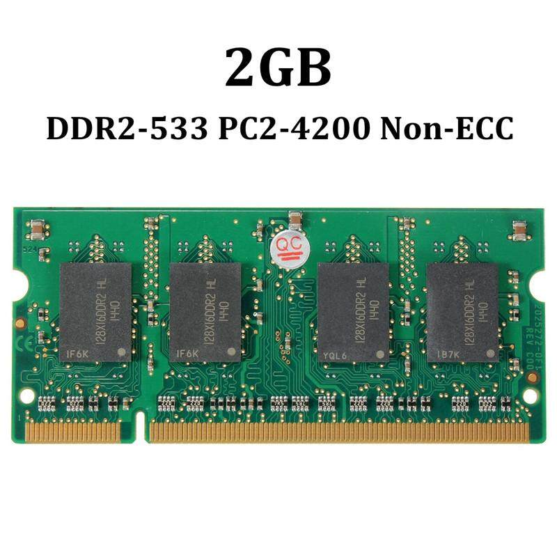 2GB DDR2 533 PC2-4200 533MHZ SO-DIMM 200PIN NON-ECC Notebook Laptop MEMORY