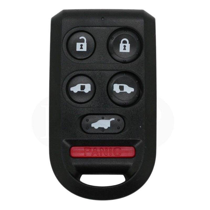 Replacement Remote Key Shell fit for HONDA Odyssey Key Case Fob 6-Buttons Black