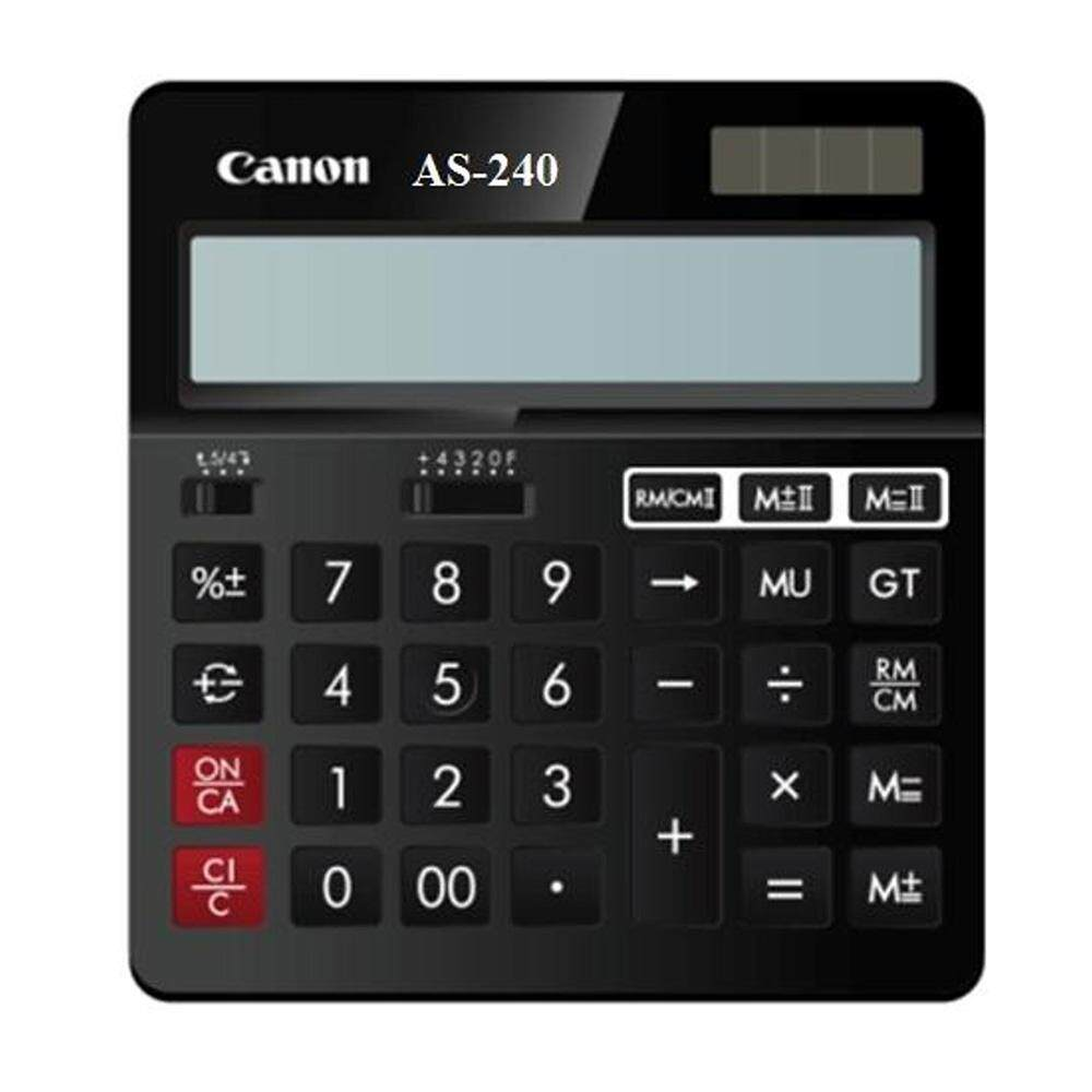 Canon AS-240 Desktop 14 Digits Calculator