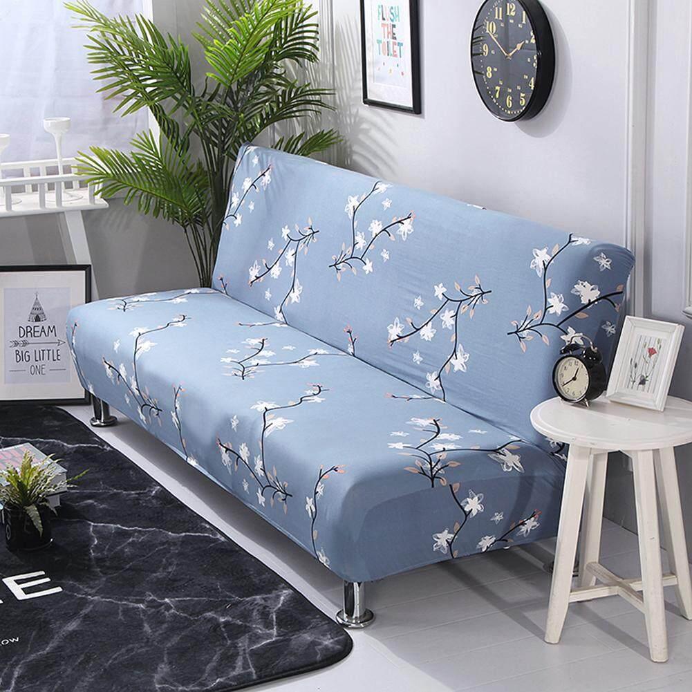 Không Tay Co Giãn Ghế Sofa Bọc Tất Cả-Bao Phủ Gấp Sofa Giường Bao Giường Trang Bị Tấm Đa Năng Bao Sofa Khăn
