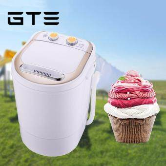 GTE XPB26-1136 Semi-auto Laundry Clothes Wash Mini Washing Machine 3KG - Fulfilled by GTE SHOP