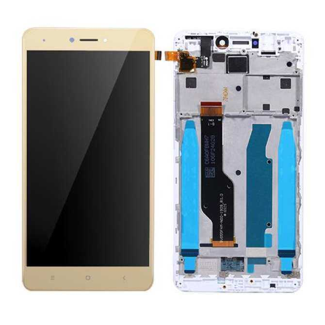 For Xiaomi Redmi Note 4X 3GB 32GB Globle Version LCD Display Frame Touch Screen Panel Redmi
