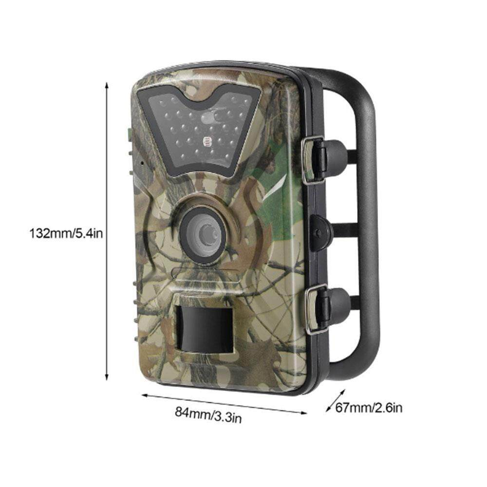 yydsop 1080P Trail Camera Wildlife Game Camera For Wildlife Monitoring And Home Security,battery Is Not Included