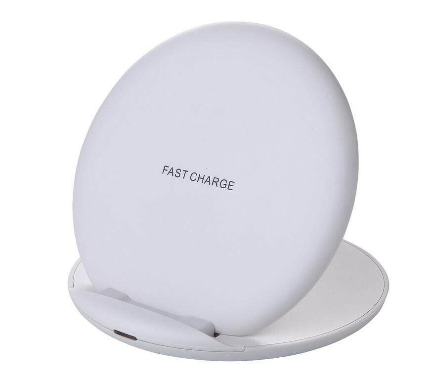 For IPhone X/XS 8 Portable Wireless Charger Power Qi Charging Pad Mat