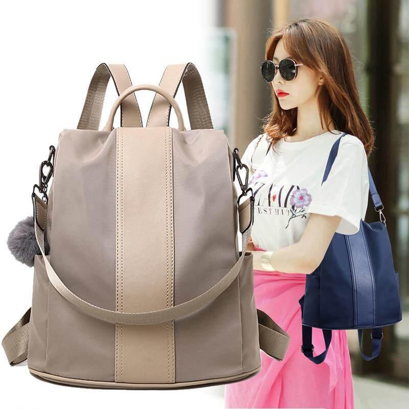 bde706033e72 Anipopy Korean Style Backpack Fashion Women Casual Shoulder Bags Anti-theft  Rucksack Waterproof Nylon School Shoulder Bag   Lazada